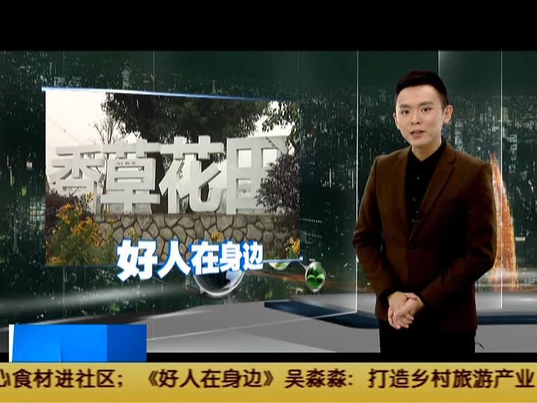吴淼淼:打造乡村旅游产业  让村民富起来